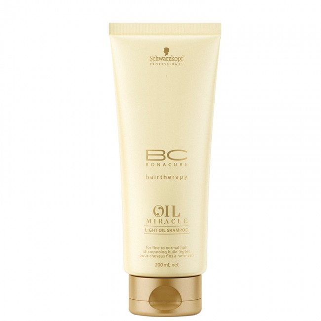 Shampoo Leve BC Bonacure Oil Miracle Schwarzkopf 200ml