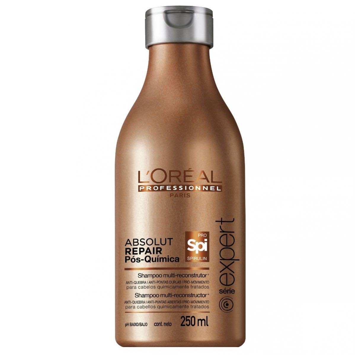 Shampoo Loreal Absolut Repair Pós-Quimica 250ml