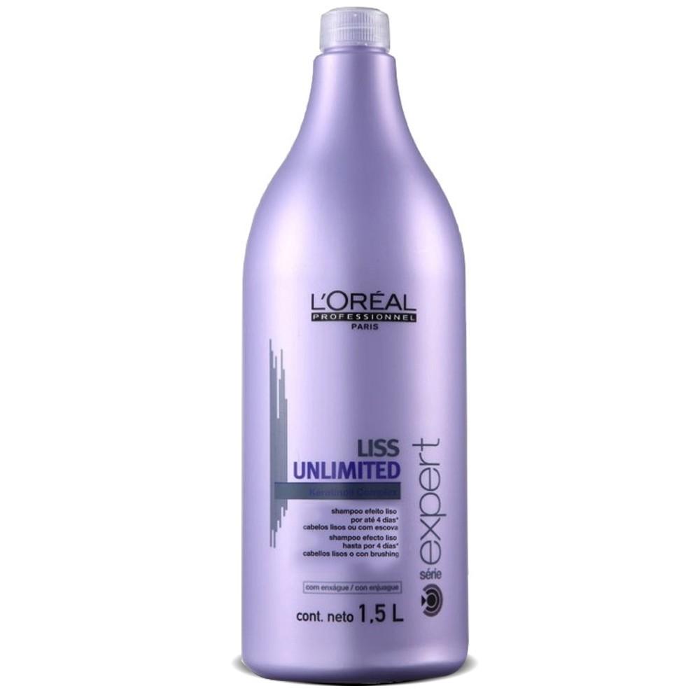 Shampoo Loreal Liss Unlimited 1500ml