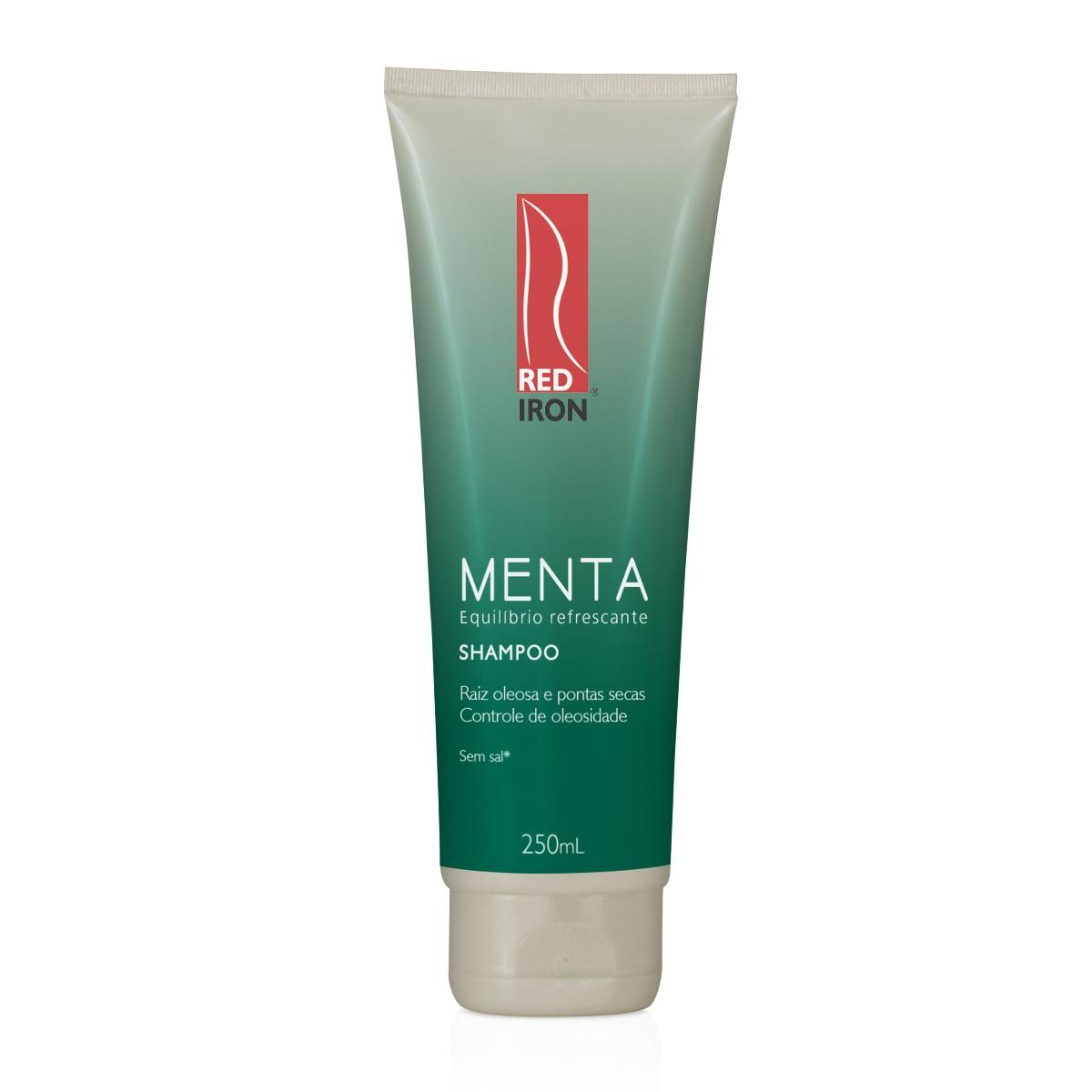 Shampoo Menta - Raízes Oleosas e Pontas Secas 250ml