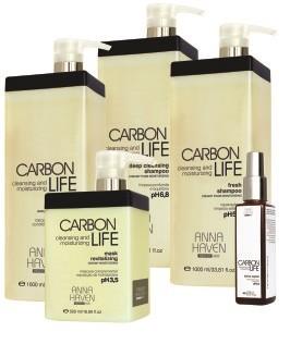 Tratamento Cosmecêutico Detox Carbon Life Anna Haven -5 Ites