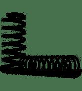 Mola Traseira Monza 1.6 e 1.8 2 ou 4 portas  ICH0212 marca Fabrini (Preço do Par)