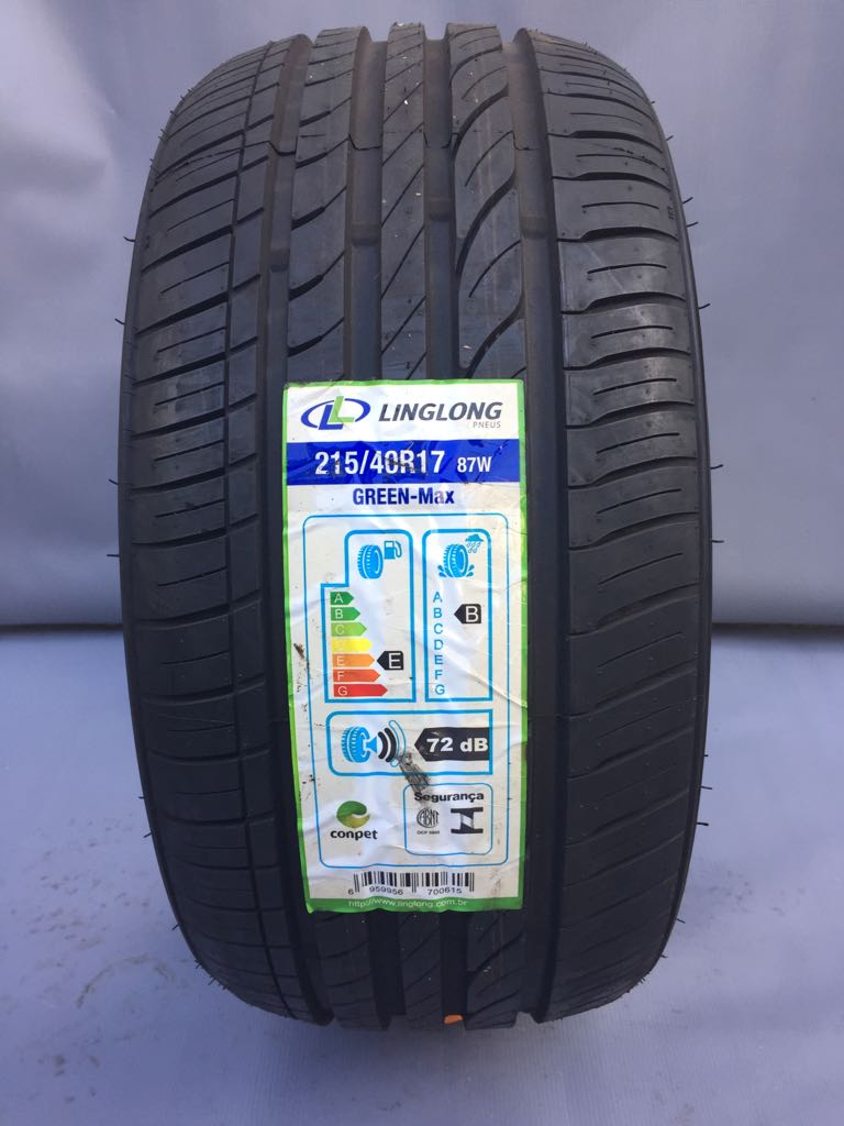 Pneu 215/40R17 Ling Long Green Max Extra Load (Ideal para carros Esportivos)