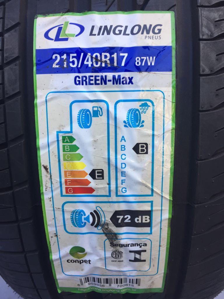 Pneu 215/40R17 Ling Long Green Max Extra Load (Ideal para carros Esportivos)