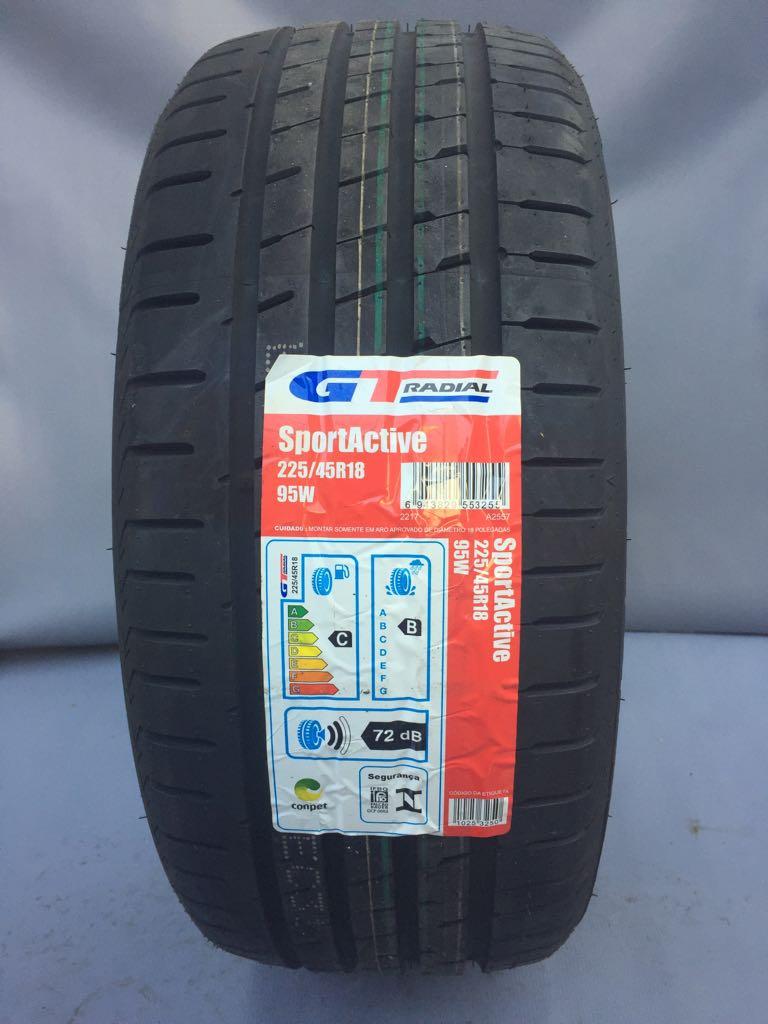 Pneu 225/45R18 GT Radial Sportactive 95W XL (BMW X1, Sonata, Optima, Cooper)