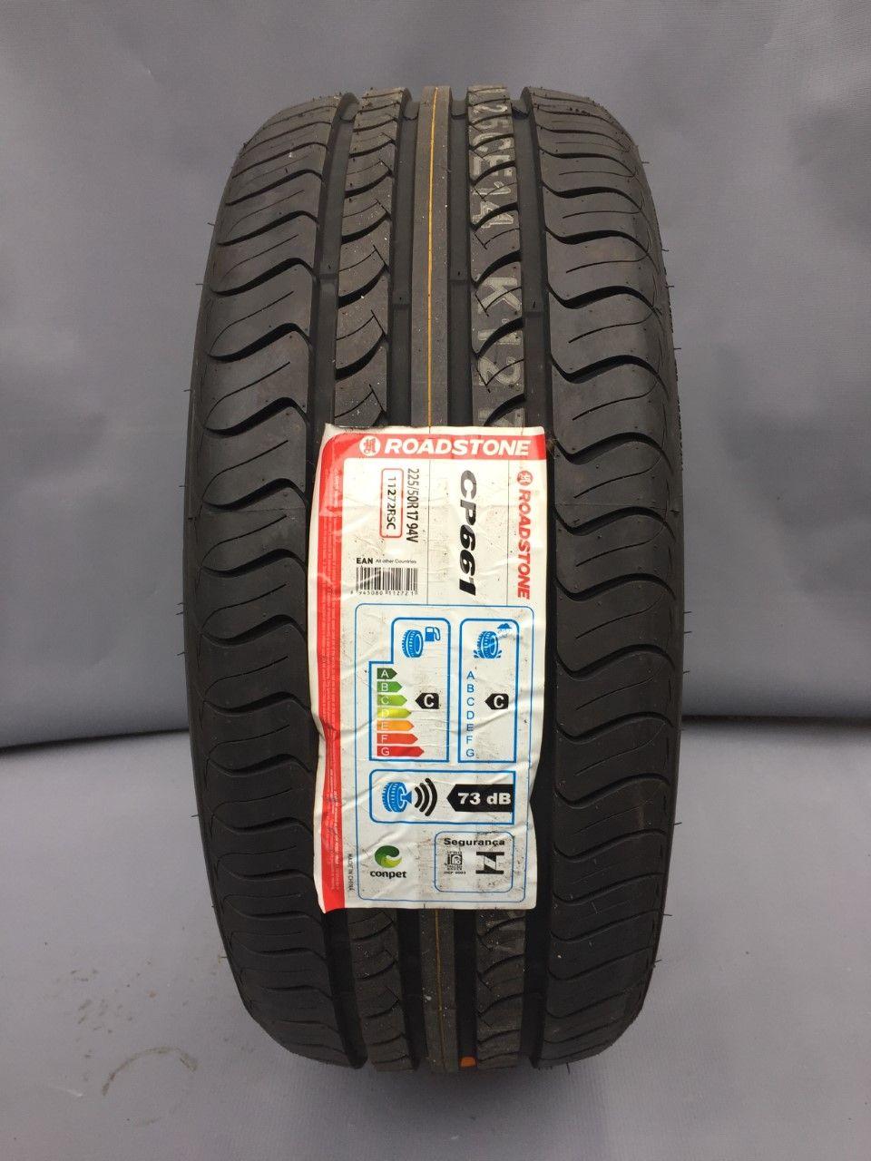 Pneu 225/50R17 Roadstone CP661 94V (Pneu Sonata, PNEU Cruze, Fusion, Accord, C30, Audi A4, BMW X1, Volvo V40)