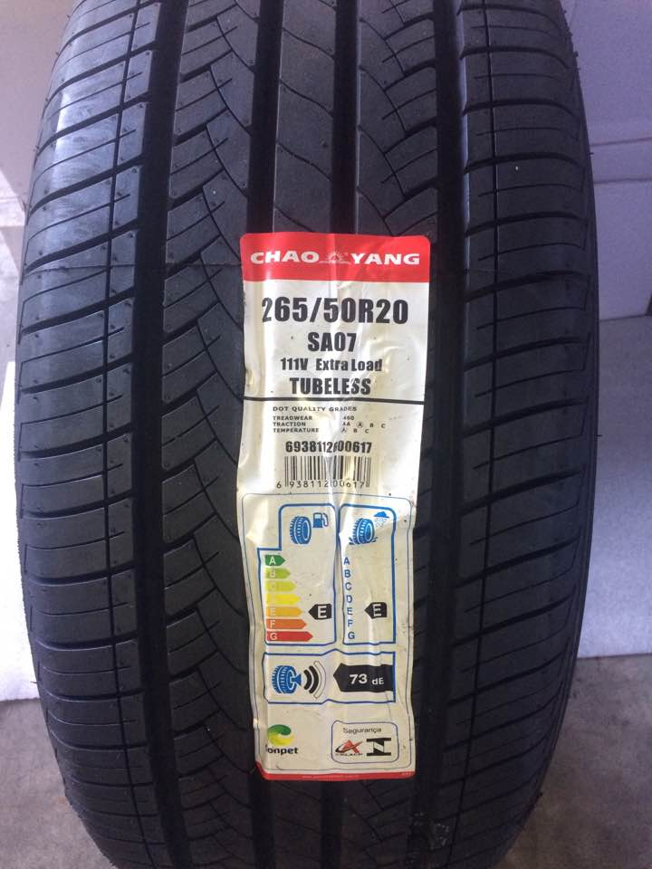 Pneu 265/50R20 Chaoyang SA07 HP 111V  (Durango, Grand Cherokee, Pajero Full)