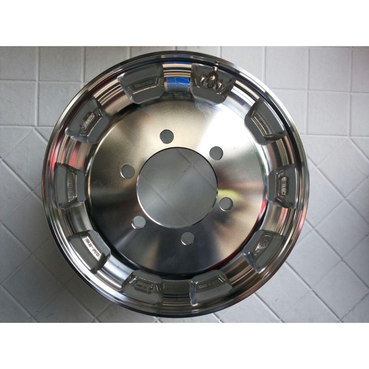 Roda Iveco de Alumínio Aro 17,5