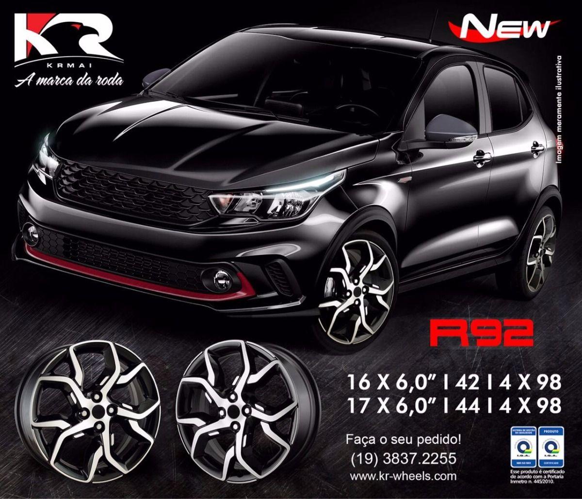 Roda Fiat Argo KR R92 Aro 14