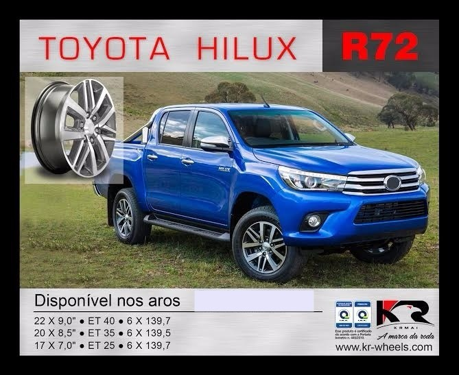 Roda Hilux KR R72 Aro 22
