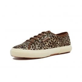2750 COTU  ANIMAL PRINT LEATHER BROWN