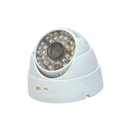 Câmera DOME Infra 48 leds Digital 1/4 420 Linhas