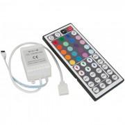 Controle Remoto RGB 44 Teclas p/ Fita ou Lâmpada RGB