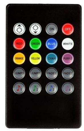 Controle Remoto RGB musical 12V