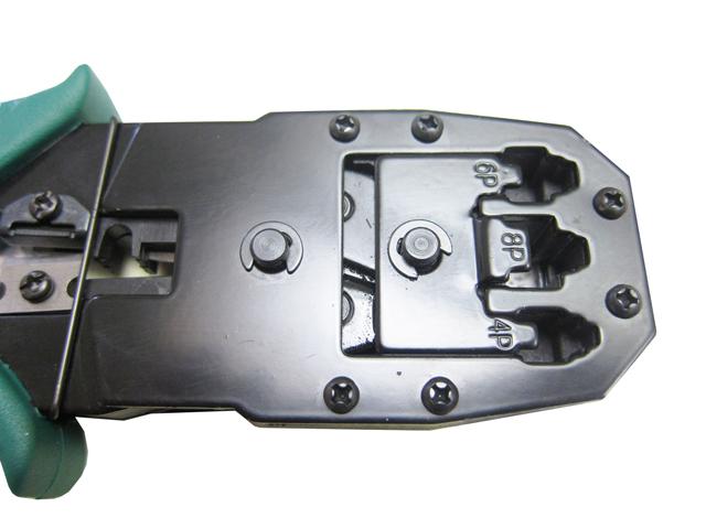 Alicate de crimpar RJ45 RJ11 + Decapador