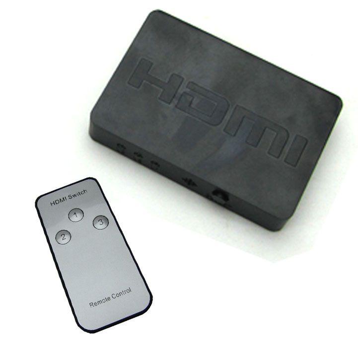 Chaveador Switch HDMI 3x1