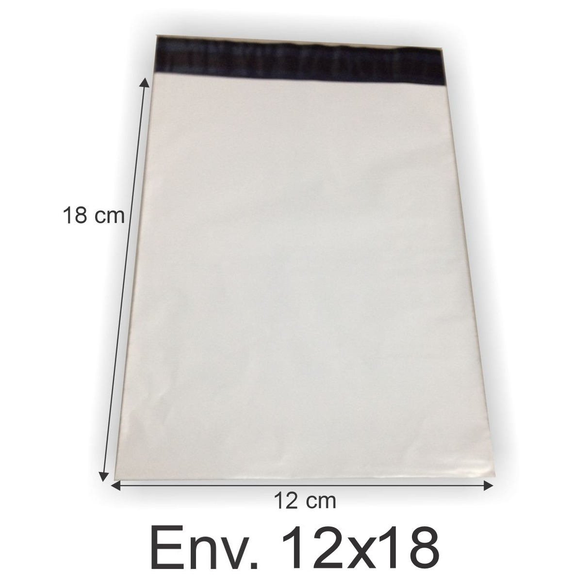 Envelope Plástico Segurança Lacre Tipo Sedex 12x18 (250pcs)