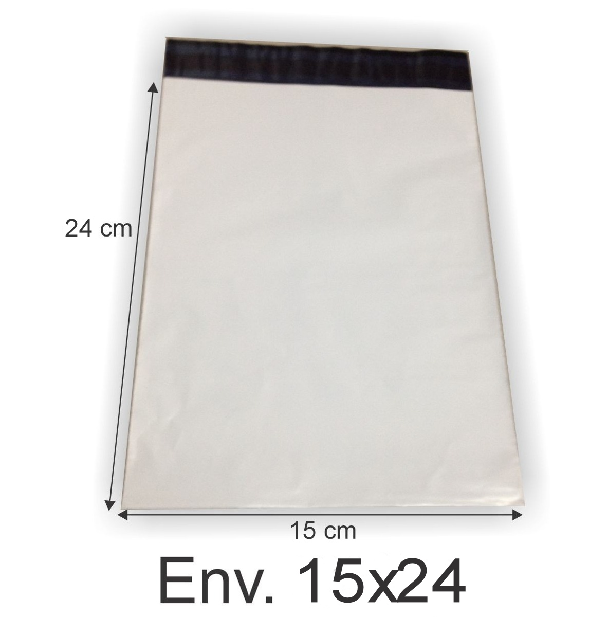 Envelope Plástico Segurança Lacre Tipo Sedex 15x24 (100pcs)