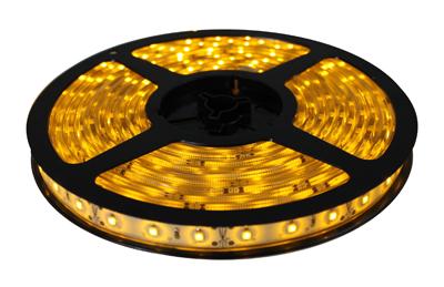 Fita de LED 5M 12V Amarelo (60 led/m) SMD 3528