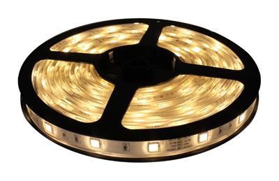 Fita de LED 5M Prova D´água 12V Branco Morno (60 led/m) SMD 3528