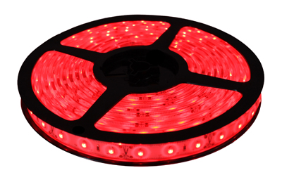 Fita de led 5M Prova D´água 12V Vermelho (60 led/m) SMD 3528