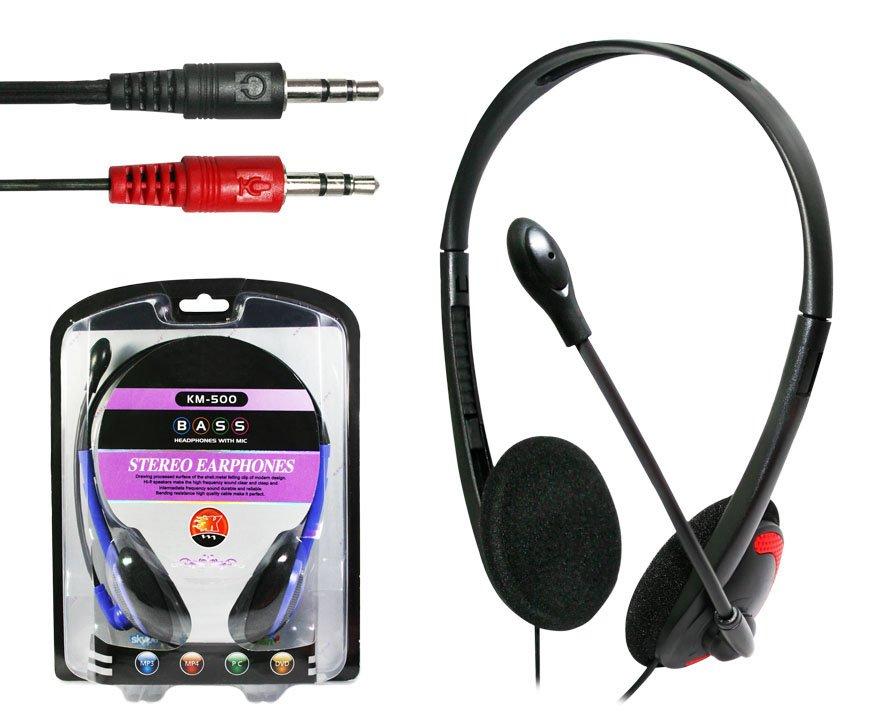 Fone Ouvido com Microfone KM500 Slim