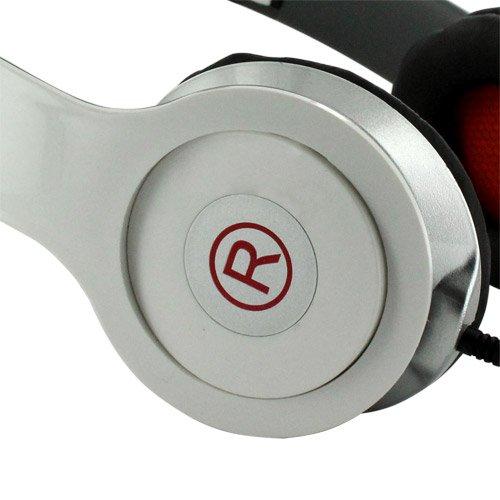 Fone Ouvido Stéreo Headphone Dobrável A13 Branco