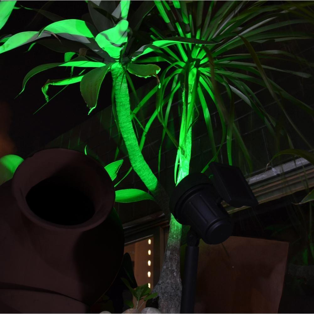 Lumin 225 Ria Solar De Jardim Refletor Led Verde Virtual3000