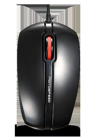 Mouse Óptico 3D F300 Motospeed