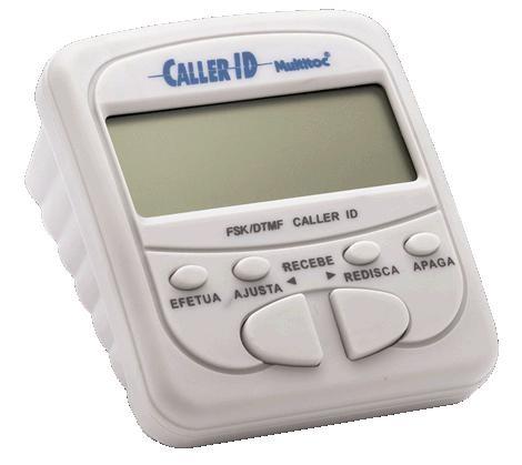 Multitoc Identificador de Chamadas Branco