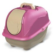 Sanitário Plastpet Wc Cat Box Pop para Gatos - Rosa