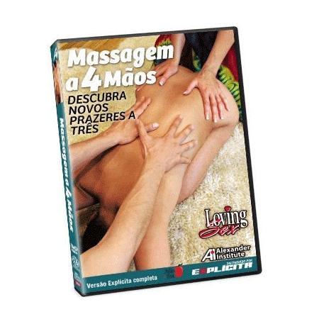 DVD Massagem 4 mãos