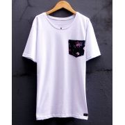 Camiseta Flowers Pocket