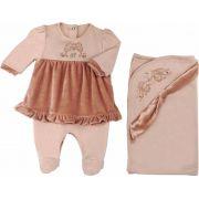 Conjunto Maternidade Feminino Vestido