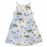 Vestido Alcinha Estampa Digital Tartarugas Bebê