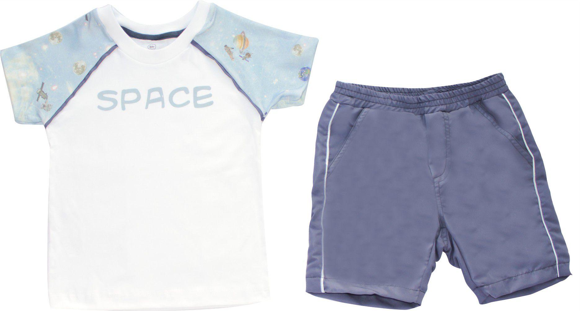 Conjunto Masculino Camisa + Bermuda