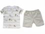 Conjunto Camisa+ Bermuda  Dinossauros