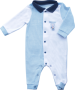 Macacão Masculino Manga Longa Bicolor
