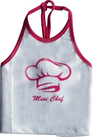 Babador Bandana Feminino Impermeável Silk Mini Chef