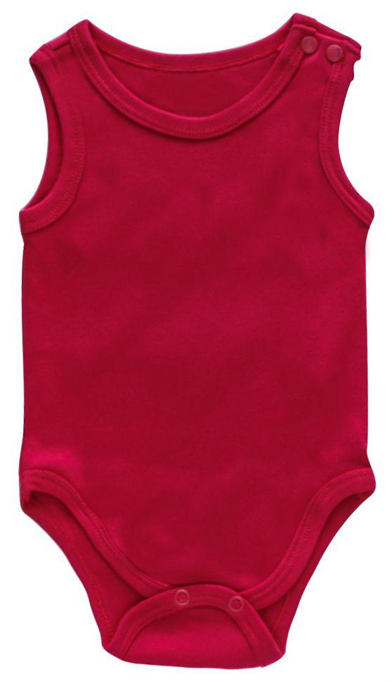 Body Unissex Cavado Abertura No Ombro Algodão Egípcio infantil