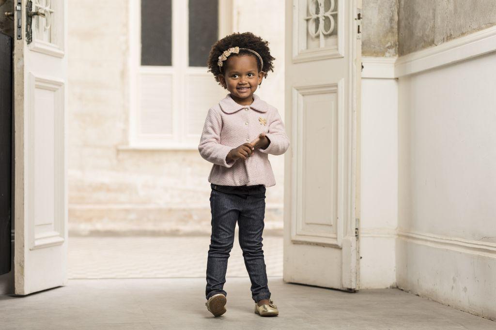 Casaco Feminino Soft Glitter Infantil