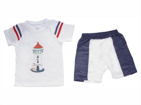 Conjunto Camisa + Bermuda Farolzinho
