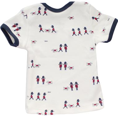 Conjunto Curto Masculino Camisa+Tapa fralda Guarda Real