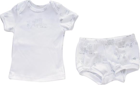 Conjunto Curto Masculino Camisa + Tapa Fralda London