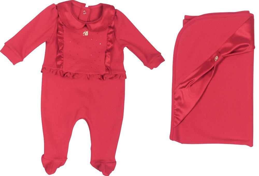 Conjunto Maternidade Feminino Sem Forro Camisa