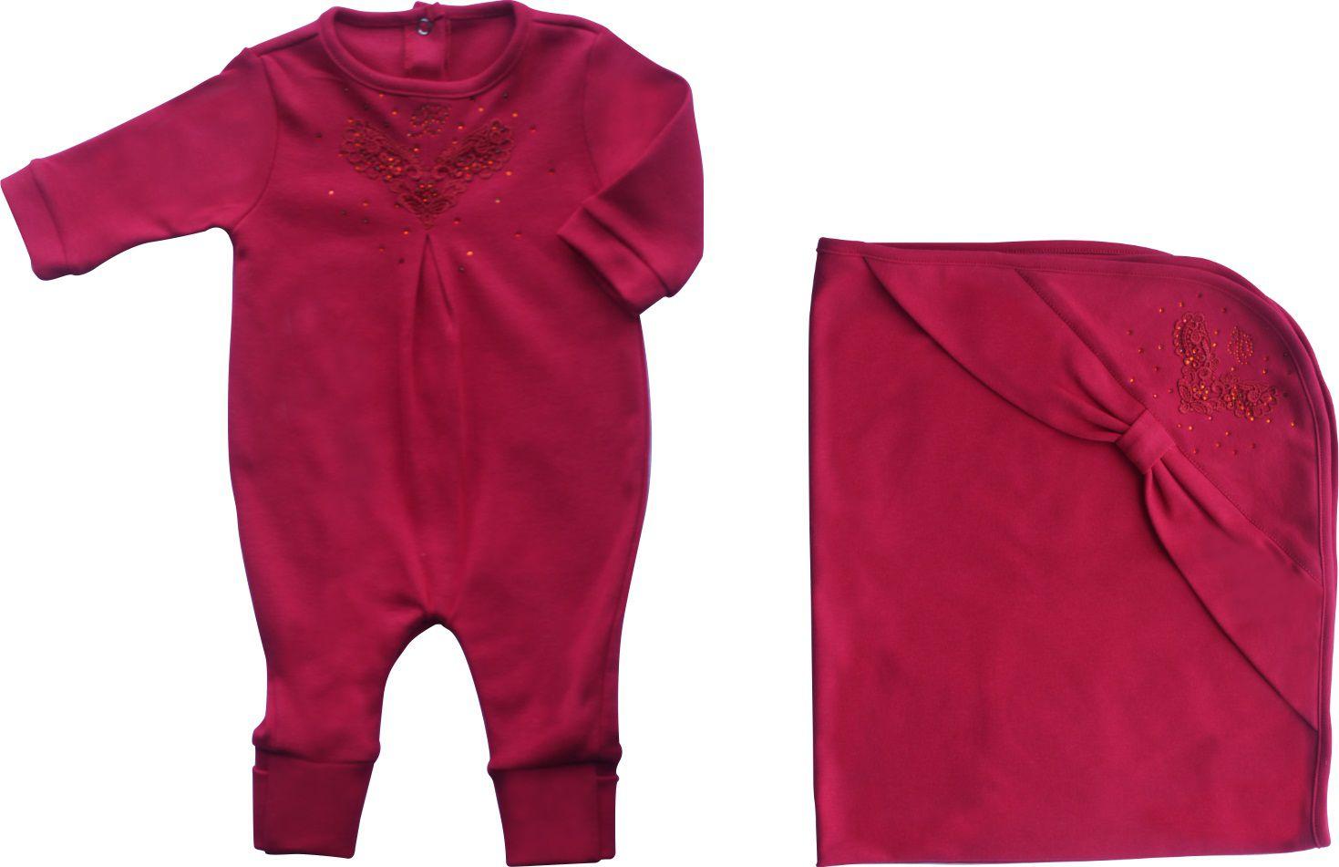 Conjunto Maternidade Feminina Vermelha.
