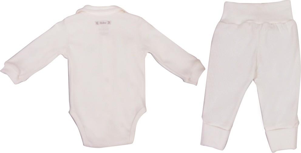 Conjunto Unissex Body + calça Bordado Asas BY BIBE