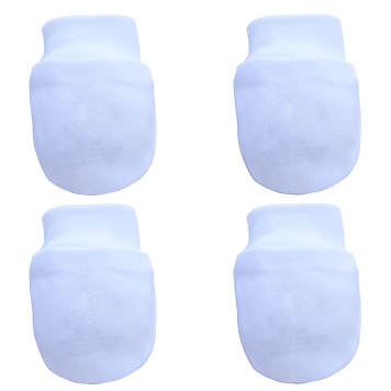 Kit 2 Pares de Luvas Branco