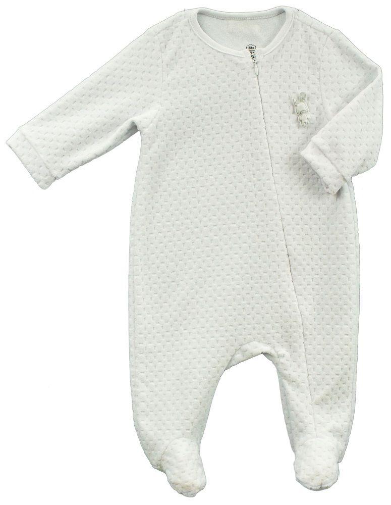 Macacão Unissex Bebê Aberto na frente Plush BY BIBE