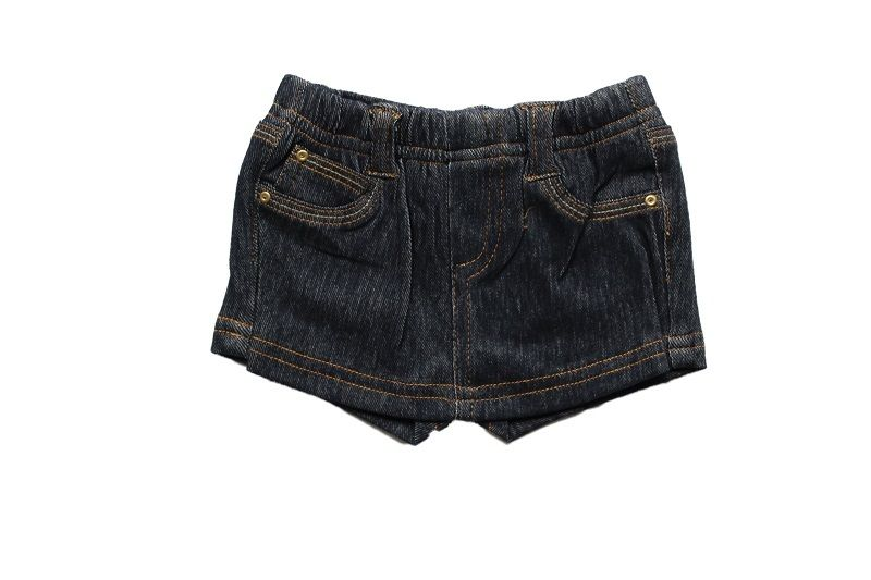 Short Saia Jeans Feminino Comfort Denim
